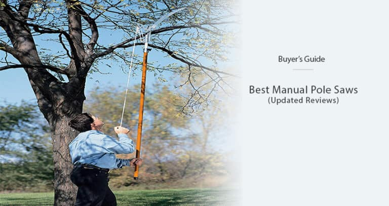 Best Manual Pole Saws of 2021 – [Our Favorite Models]