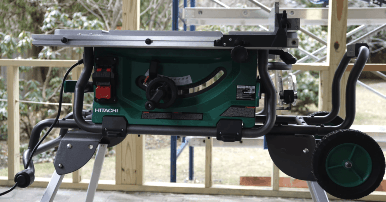 Hitachi C10RJ Review – Great Jobsite Table Saw For The Price ?