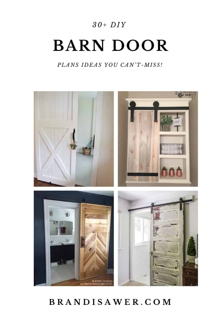 30+ DIY Barn Door Plans Ideas You Can't-Miss!