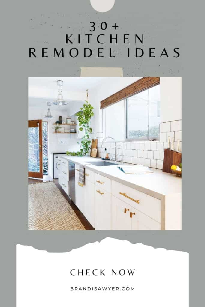 30+ Kitchen Remodel Ideas