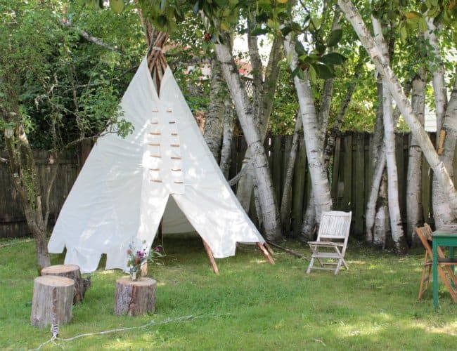 DIY Teepees for Fun Kids