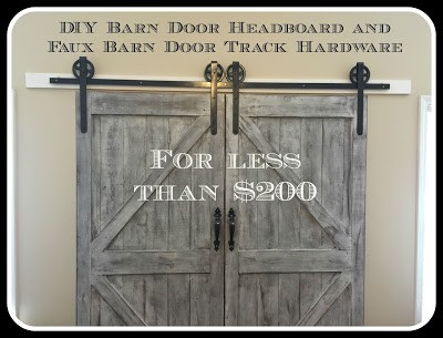 Barn Door Headboard