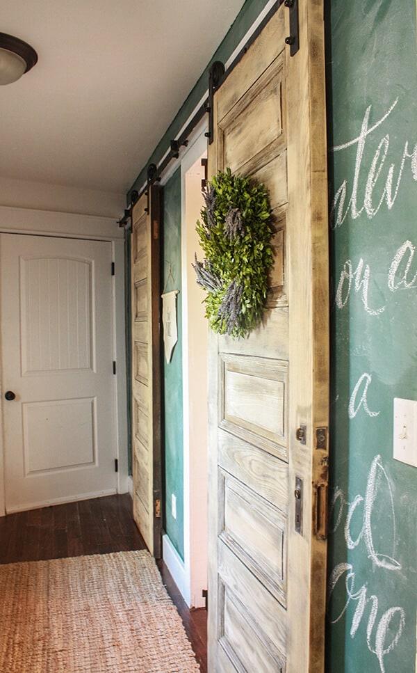 Bleached-Wood-Barn-Doors