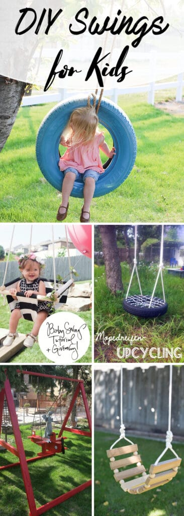 DIY Tree Swing for Kids