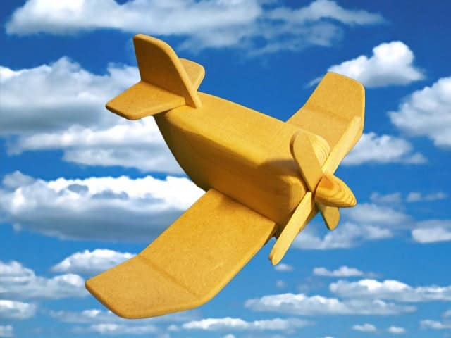 Wooden Airplane For kids