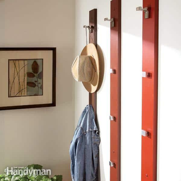 Sleek and Simple Coat Rack and Hat Rack