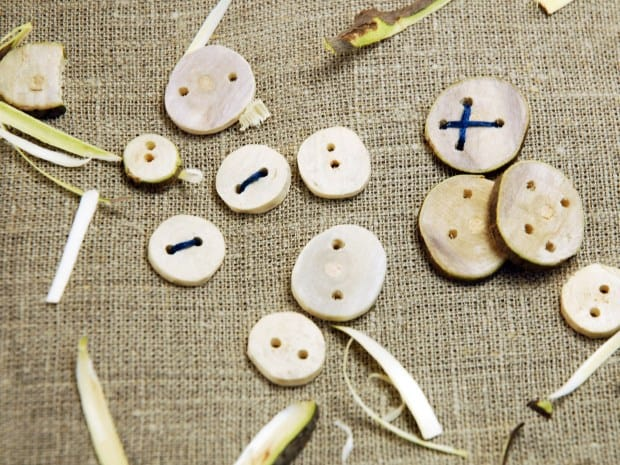 DIY Wooden Button