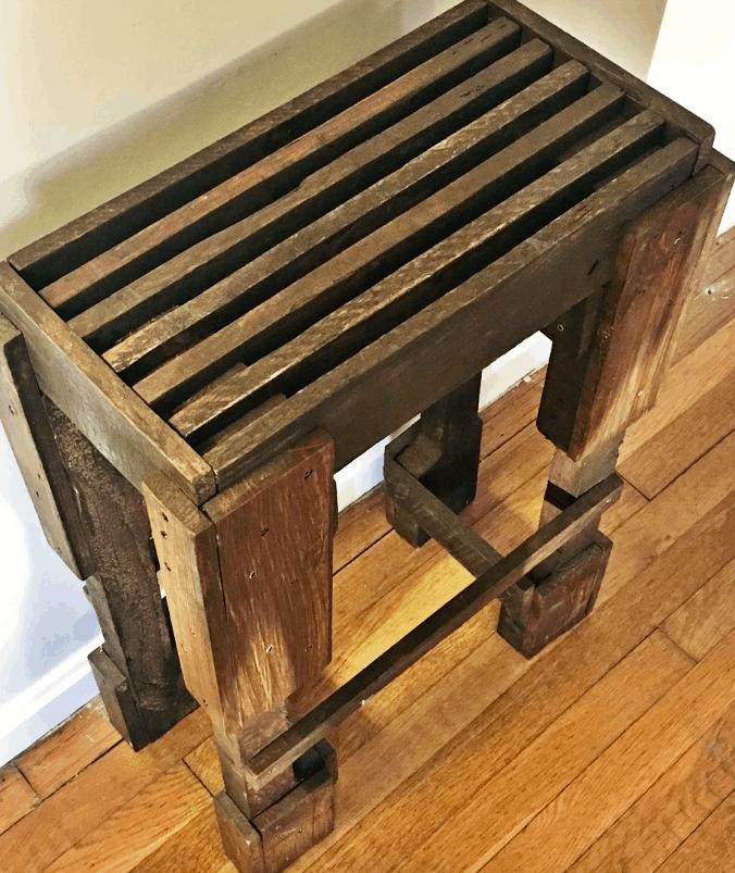 Scrap Wood Stool project