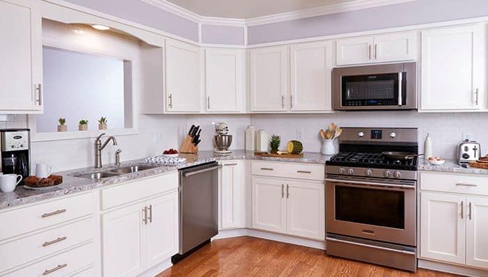 Small-Budget Kitchen