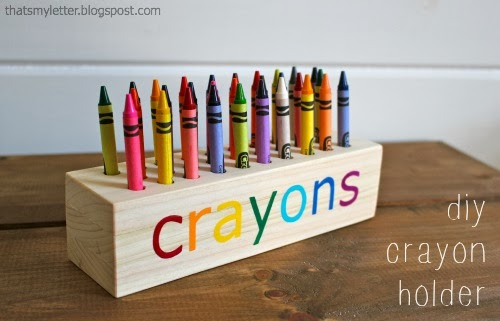 DIY Crayon Holder