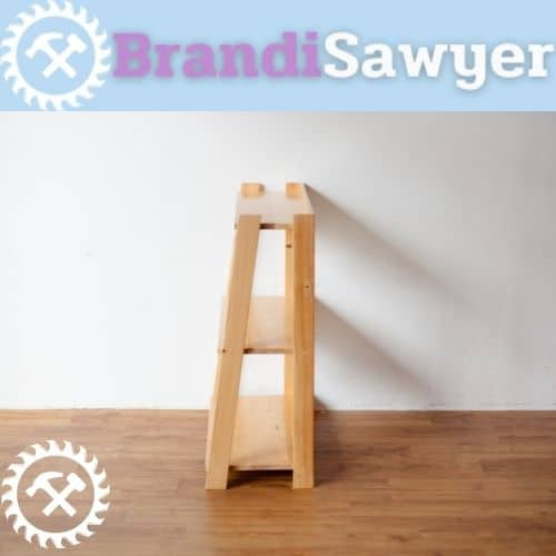 how to make a pallet shelf in woodworking